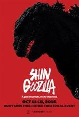 Godzilla Resurgence (Shin Gojira) Movie Poster
