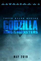 Godzilla : Roi des monstres Affiche de film