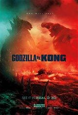 Godzilla vs. Kong 3D Movie Poster