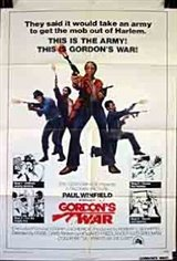 Gordon's War Large Poster