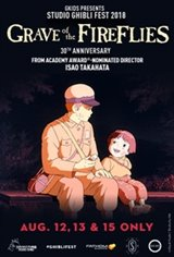 Grave of the Fireflies - Studio Ghibli Fest 2018 Large Poster
