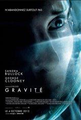 Gravité 3D Movie Poster
