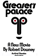 Greaser's Palace (1972) Movie Poster