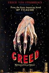 Greed (1924) Affiche de film