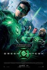 Green Lantern 3D Movie Poster