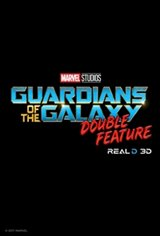 Guardians of the Galaxy Double Feature 3D Movie Poster