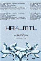HAK_MTL (v.o.f.) Affiche de film