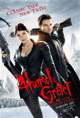 Hansel & Gretel: Witch Hunters 3D Movie Poster