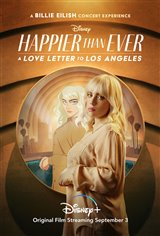 Happier than Ever: A Love Letter to Los Angeles (Disney+) Movie Poster