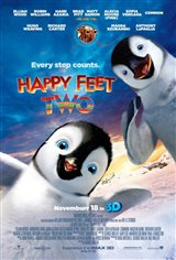 Happy Feet Two 3D Movie Poster