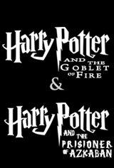 Harry Potter: The Prisoner of Azkaban & The Goblet of Fire Movie Poster
