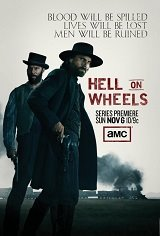 Hell on Wheels: The Complete First Season Movie Poster Movie Poster
