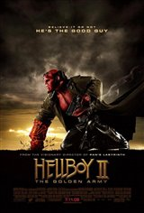 Hellboy II: The Golden Army Movie Poster Movie Poster