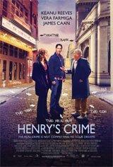 Henry's Crime Movie Poster