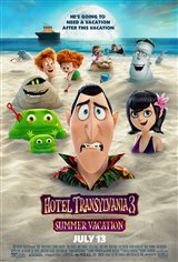 Hotel Transylvania 3: Summer Vacation Affiche de film