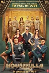 Housefull 4 Affiche de film