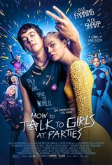 How to Talk to Girls at Parties Movie Poster Movie Poster