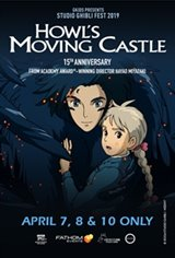 Howl's Moving Castle - Studio Ghibli Fest 2019 Movie Poster