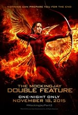 Hunger Games: The Mockingjay Double Feature Movie Poster