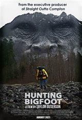 Hunting Bigfoot Affiche de film