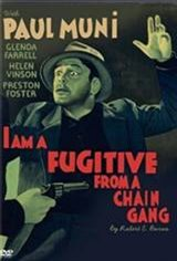 I Am a Fugitive From Chain Gang Movie Poster
