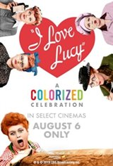 I Love Lucy: A Colorized Celebration Large Poster