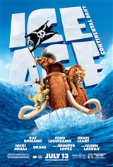 Ice Age: Continental Drift 3D Movie Poster