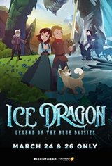Ice Dragon: Legend of the Blue Daises Large Poster