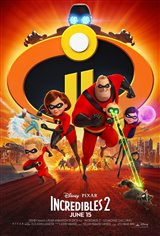 Incredibles 2 Affiche de film
