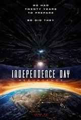 Independence Day: Resurgence 3D Movie Poster
