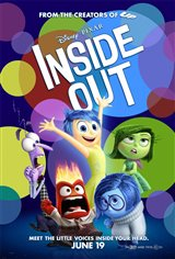 Inside Out 3D Movie Poster