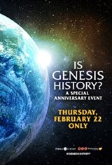 Is Genesis History? Anniversary Event Movie Poster