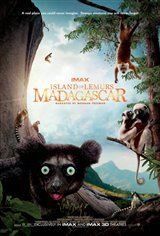 Island of Lemurs: Madagascar - An IMAX 3D Experience Movie Poster