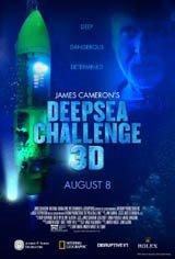 James Cameron's Deepsea Challenge 3D Movie Poster