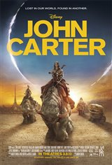 John Carter 3D Movie Poster