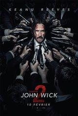 John Wick : Chapitre 2 Affiche de film