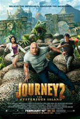 Journey 2: The Mysterious Island - An IMAX 3D Experience Movie Poster