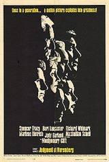 Judgement at Nuremberg Movie Poster