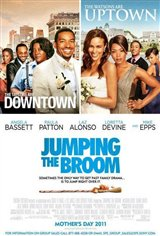 Jumping the Broom Large Poster