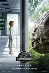 Jurassic World 3D Movie Poster