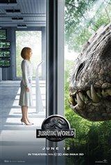 Jurassic World 3D Movie Poster