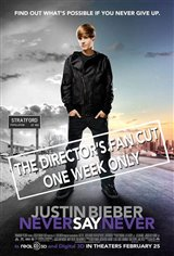 Justin Bieber: Never Say Never - The Director