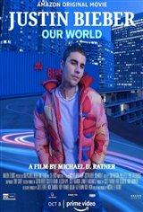 Justin Bieber: Our World (Amazon Prime Video) Movie Poster