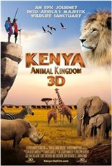 Kenya 3D: Animal Kingdom Movie Poster