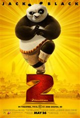 Kung Fu Panda 2 3D Movie Poster