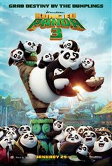 Kung Fu Panda 3 3D Movie Poster