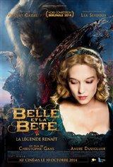 La Belle et la Bête (2014) Affiche de film