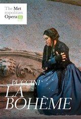 La Bohème - Metropolitan Opera Affiche de film
