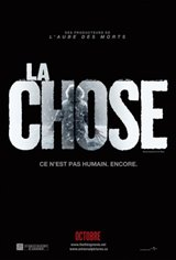 La chose Movie Poster