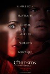 La conjuration : Sous l'emprise du diable Affiche de film